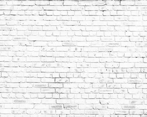 Simple Retro White Brick Wall Vinyl Printed Backdrop For Photography Brick Wall Backdrop White Brick Walls Wall Backdrops