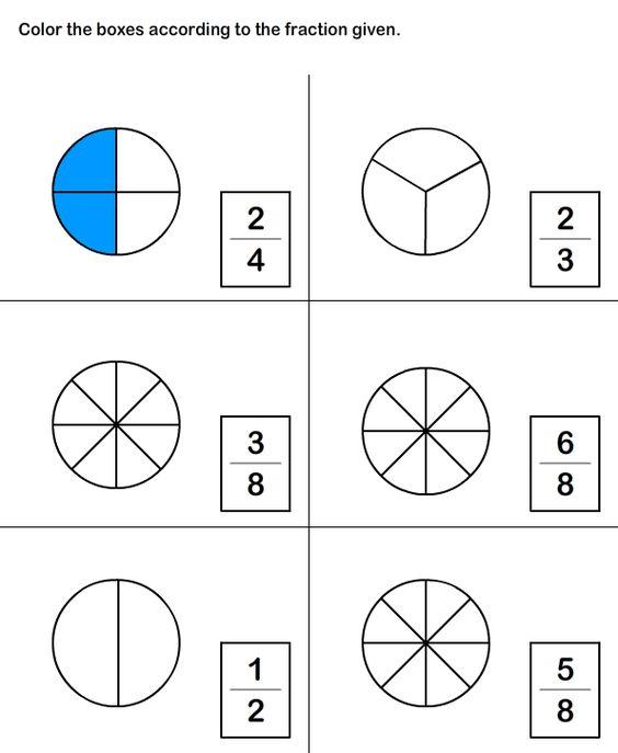 math worksheet : math worksheets grade 2 worksheets fractions worksheet  2nd  : Fraction Worksheet Grade 2