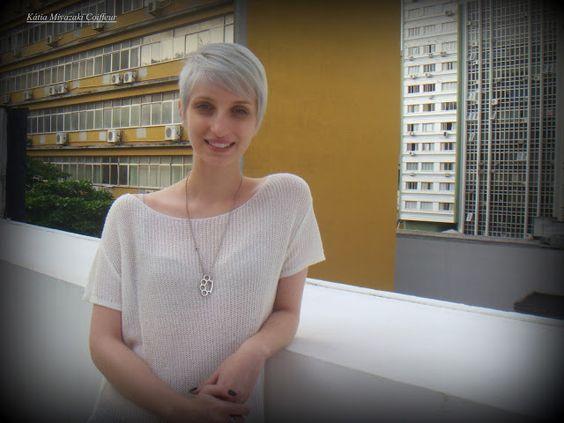 Katia Miyazaki Coiffeur - Salão de Beleza em Floripa: Corte de Cabelo curto…