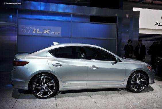 2012 Acura ILX Concepto de imagen