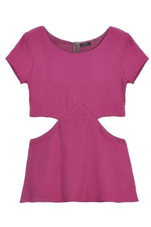 Le Mis Shop Online - Detalhes do Produto Blusa Girassol - rosa - Schutz, John John, Luiza Barcelos,Jolie,Skazi, Anacapri, Anamac, Thelure e muito mais! - roupas-blusas-manga-Blusa-Girassol---rosa