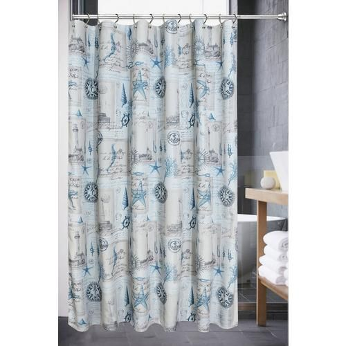 Popular Bath Products Sail Away Fabric Shower Curtain In 2020