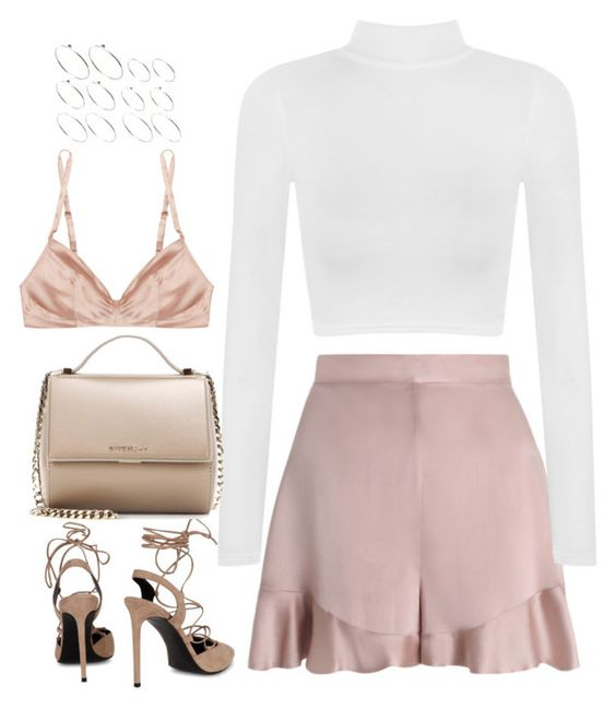 """""""Untitled #4531"""" by fashionnfacts ❤ liked on Polyvore featuring Zimmermann, WearAll, Yves Saint Laurent, Givenchy, ASOS and Rituel by Carine Gilson"""