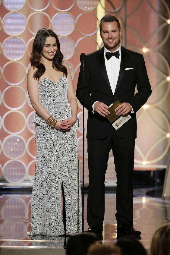 January 12: 71st Annual Golden Globe Awards - Ceremony - 0112 71GG ceremony 1 - Adoring Emilia Clarke - The Photo Gallery