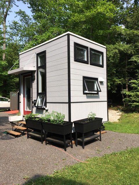 Blake S Tiny Tiny House The 7 11 Scout Tiny House On Wheels Tiny House Appliances House On Wheels Tiny House