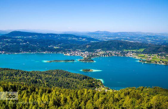 Wörthersee by IrenaSkurnsek #landscape #travel