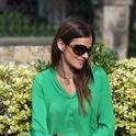 Shorts and green Blouse from Zara  , Zara em Camisas/Blusas, Zara em Calças, Purificacion Garcia em Bolsas, Dior em Óculos/Óculos de Sol