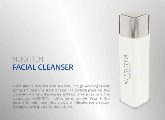 Cleanse and whitens your face for a clearer you!