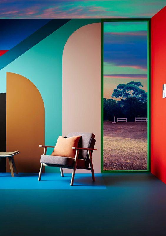 Exclusive Look At Dulux Colour Forecast 2016 Colorful Interior Design Design Trends And Design