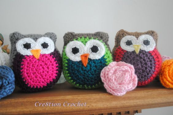 Owl Stuffy - free pattern on Cre8tion Crochet