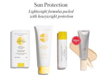 Safe sun protection options! DIY sunscreen with essential oils, and our favorite Beautycounter sunscreens!