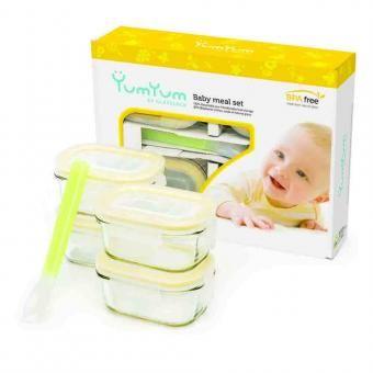 Die schadstofffreie Glas Frischhaltedosen für kleine Babymalzeiten. Hygienisch und 100% auslaufsicher. Dieses und weitere grüne Produkte finden Sie in unserem Grünen Online Shop.