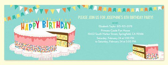 35 Birthday Invitation Email Template With Images Printable