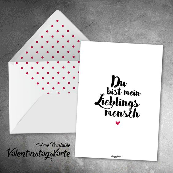 Diese Free-Printable Valentinstagskarte findet ihr unter https://www.facebook.com/designfeder/