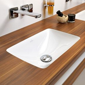 Built-in bathroom sink from Loop & Friends collection ...