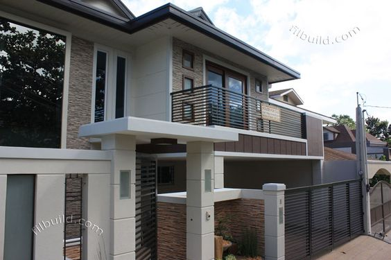 Exterior house color philippines house color design for Philippine house exterior design