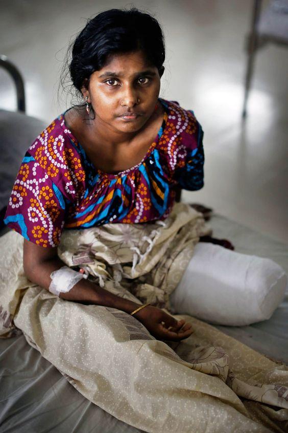 Bangladesh Rana Plaza Anniversary Fashion Revolution Day (Vogue.co.uk).  How has the world changed since Rana Plaza?