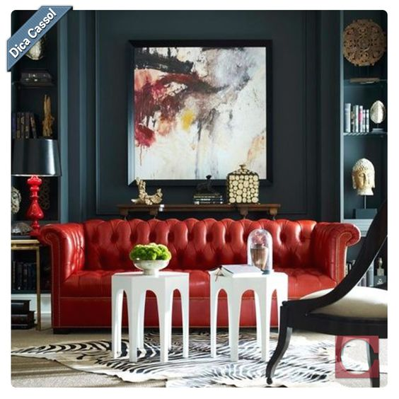 Dica Cassol: pintar as paredes com tons é uma ótima opção para uma mudança radical de estilo e sofisticação no ambiente! Fica luxuoso mesmo em espaços pequenos e despretensiosos. #Tinta