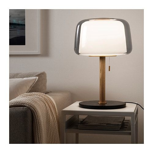 EVEDAL Tischleuchte grau Marmor, grau IKEA Deutschland