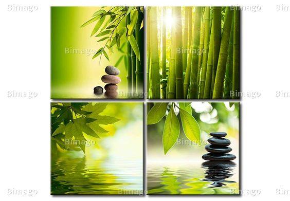 Tranquilidad cuadro moderno cuadros de naturaleza - Bimago cuadros modernos ...