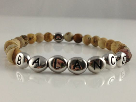 Bracelet made with picture jasper gemstone and by PinkLouLous, $15.00