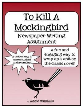 To kill a mockingbird paper