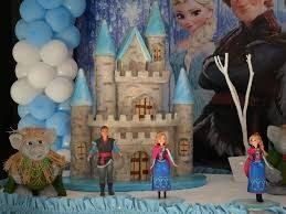 Resultado de imagem para festa infantil frozen