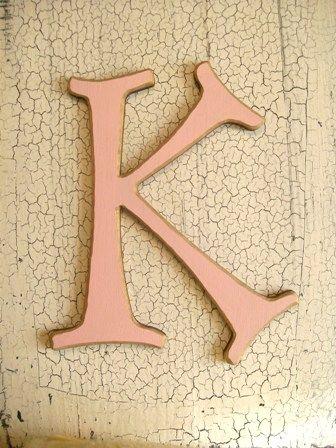 Wall letter K
