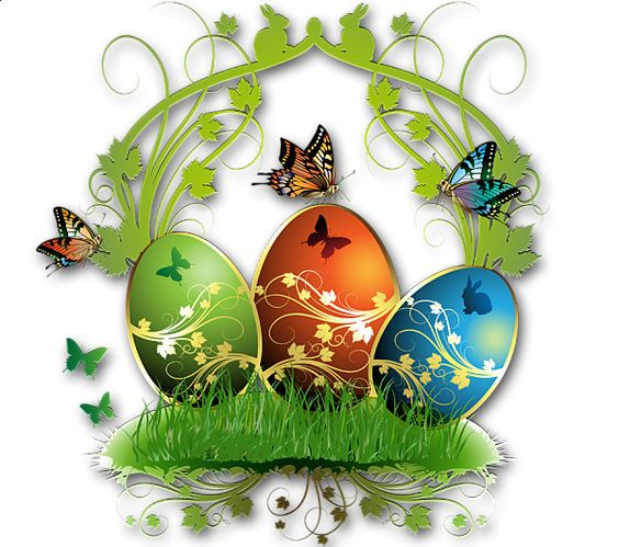 Images of easter decoration png clipart nice eggs