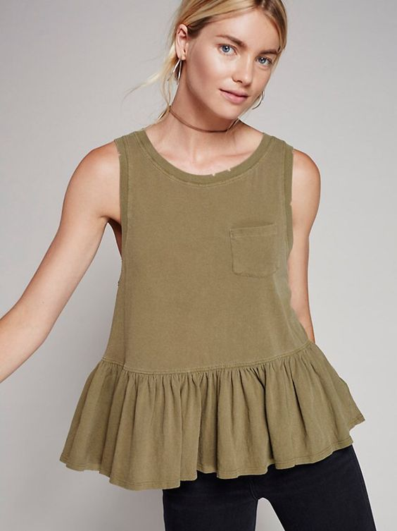 Continental Peplum from Free People!
