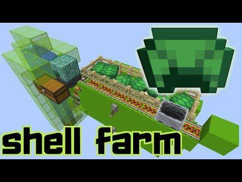 easy afk turtle shell farm automatic