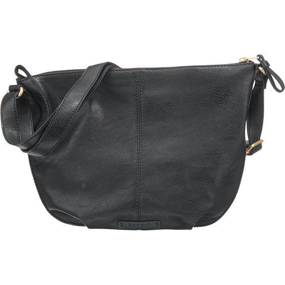 Aufgrund der klassischen Gestaltung passt diese ESPRIT Handtasche zu vielen Outfits. Das Modell schließt mühelos per Reißverschluss.  - Obermaterial in genarbter Leder-Optik - verstellbarer Schulterriemen - ein Reißverschlussfach und ein Steckfach innen - Maße: ca. 34 x 26 x 4 cm (BxHxT) - unser Model ist ca. 1,78 m groß und hat Konfektionsgröße 34/36  Obermaterial: Sonstiges Material (Kunstled...