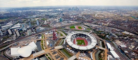 Aerial View Of Olympic Arena - www.london2012.com #olympics