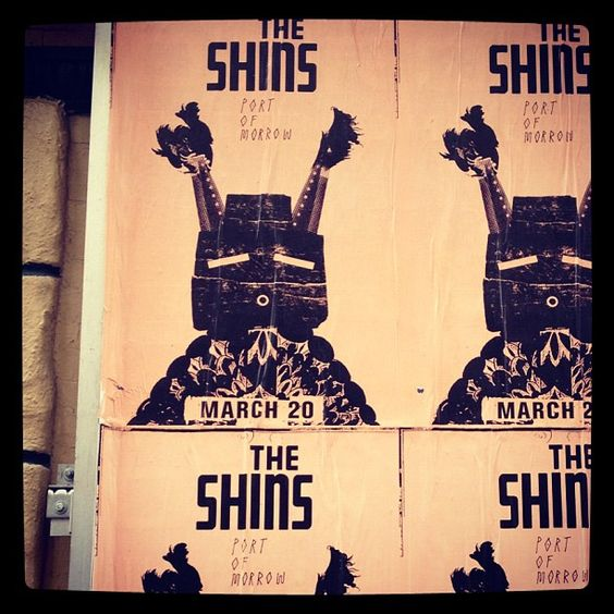 The Shins posters