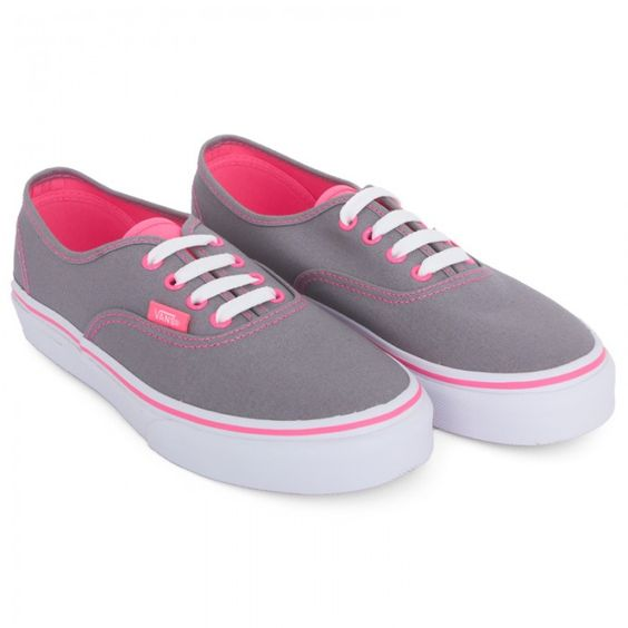 Vans Gray For Girls