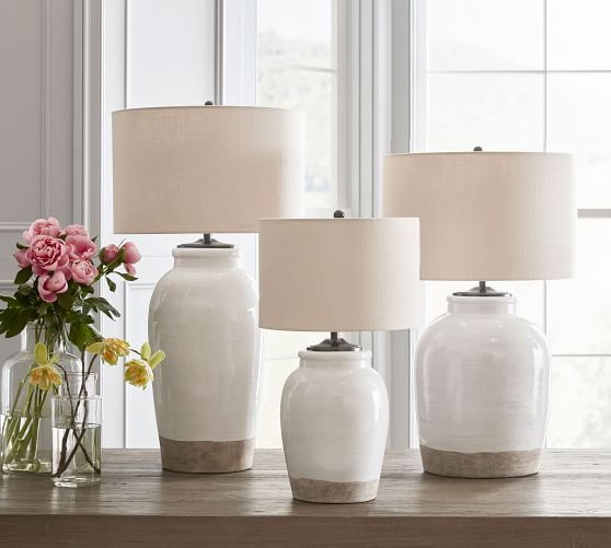 Table Lamps Desk Lamps Bedside Lamps Pottery Barn In 2020