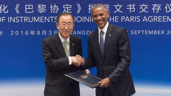 China y Estados Unidos ratifican el acuerdo del clima de París / @LaVanguardia | #readyforclimatechange