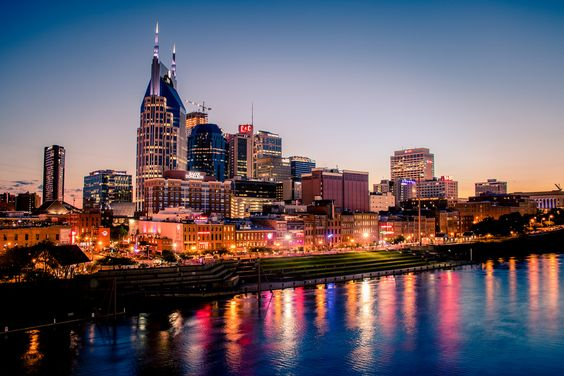Downtown Nashville TN [OC] [5660x3773]
