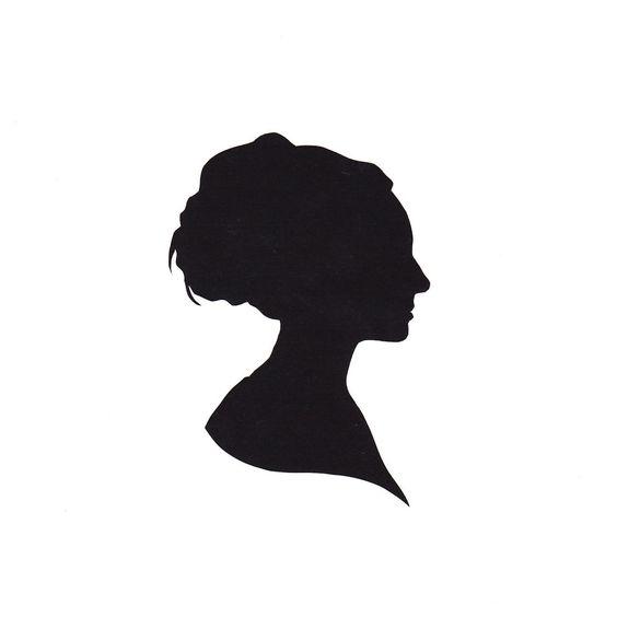 Paper Portrait Custom Silhouette