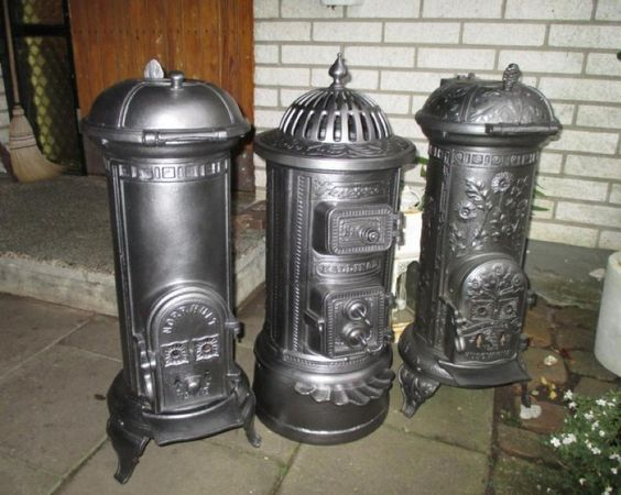 3 Old Swedish Wood Stoves Left Norrhult 178 Middle Kallinge 14 Right Hu