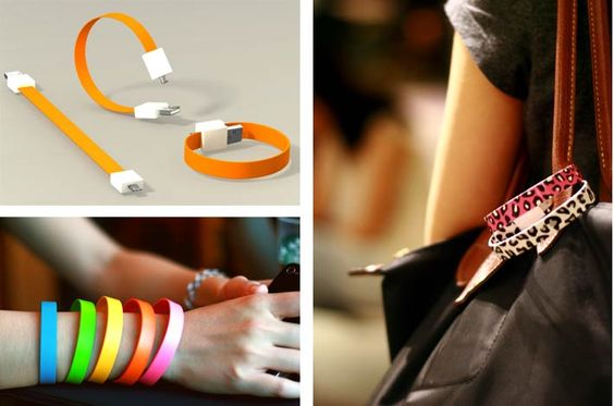 Hmmm, bracelet and USB for my iPhone?  I'd still probably never have it when I needed it. :)