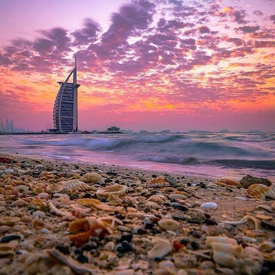 Burj Al Arab in sunset ✨✨ Dubai - U.A.E. Picture by ✨✨@Mohammed_Alnuaimi✨✨