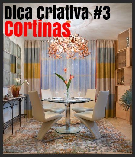 cortina tem a função de trazer privacidade, barrar o excesso de luminosidade e ainda de decorar | Forma Expressa