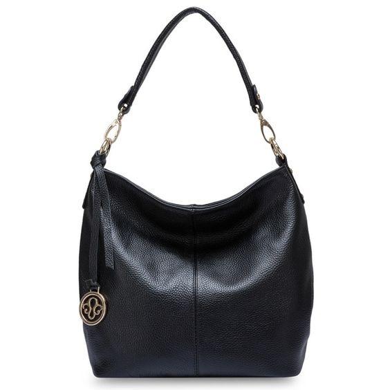 Zency 5 colors s genuine leather women shoulder bag messenger crossbody purse grey