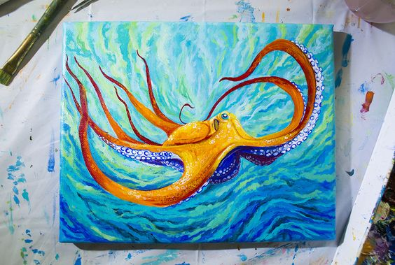 Octopus Study #3