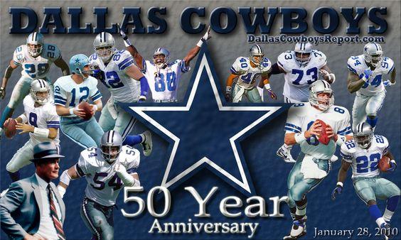 Dallas Cowboys 50th Anniversary, January 28, 2010.