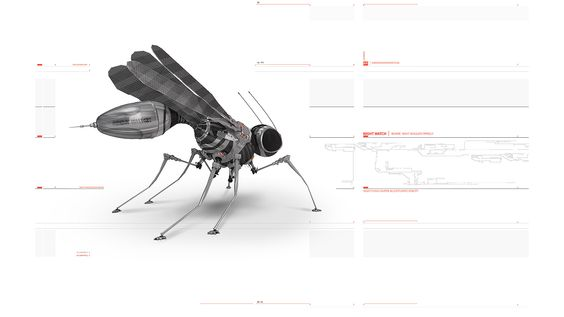Bug Robot White insects sci-fi wallpaper | 1920x1080 | 72296 ...