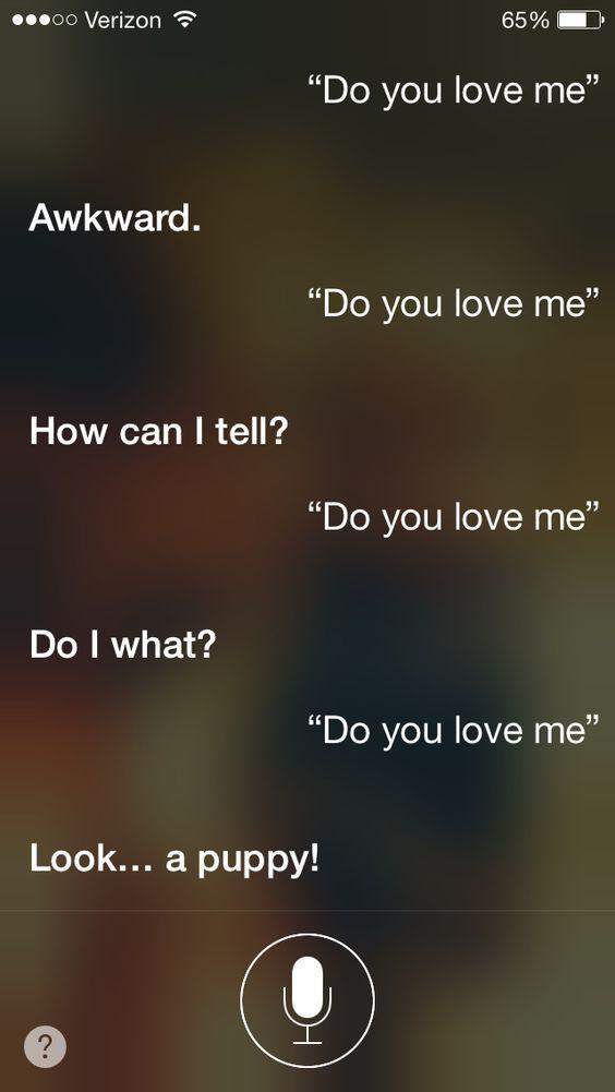 Oh Siri...