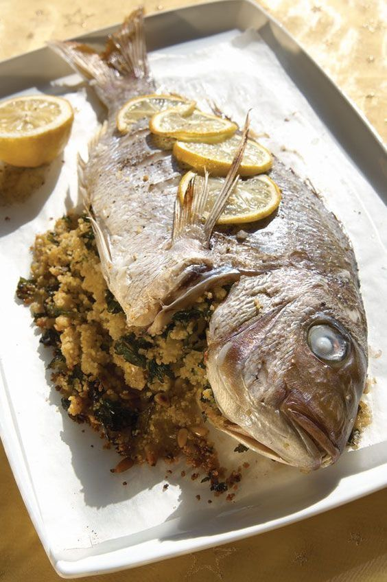 Christmas Recipe  Baked Snapper #Christmas #Dinner #Recipes #Holiday
