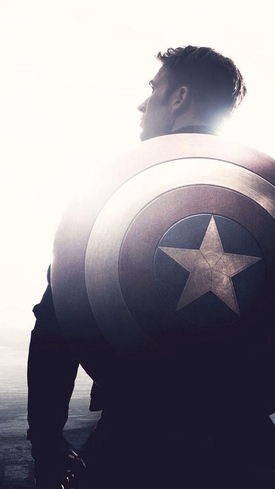 Las mejores imágenes del Capitán América como fondo de pantalla en tus dispositivos | #UniversoMarvel #CapitanAmerica